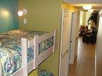 Hallway Bunk Beds Waters Edge Resort 313 Fort Walton Beach Okaloosa Island
