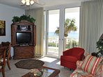Living Room Waters Edge Resort 215 Fort Walton Beach Okaloosa Island