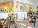 Dining Area Waters Edge Resort 215 Fort Walton Beach Okaloosa Island