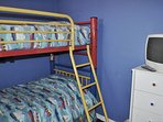 Bunk Bed Room Gulf Dunes 309 Fort Walton Beach Okaloosa Island Vacation Rentals