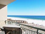 Balcony Pelican Isle 308 Fort Walton Beach Okaloosa Island Vacation Rentals