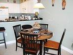 Dining Area Pelican Isle 308 Fort Walton Beach Okaloosa Island Vacation Rentals