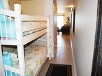 Hallway Bunk Beds Pelican Isle 308 Fort Walton Beach Okaloosa Island Vacation Rentals