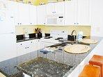 Kitchen Gulf Dunes 607 Fort Walton Beach Okaloosa Island Vacation Rentals