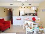Living Room Pelican Isle 414 Fort Walton Beach Okaloosa Island Vacation Rentals