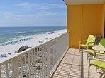 Balcony Gulf Dunes 609 Fort Walton Beach Okaloosa Island Vacation Rentals