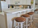 Kitchen Gulf Dunes 609 Fort Walton Beach Okaloosa Island Vacation Rentals