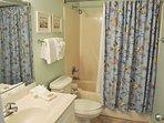 Guest Bathroom Gulf Dunes 609 Fort Walton Beach Okaloosa Island Vacation Rentals