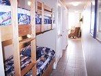Hallway Bunk Beds Waters Edge Resort Unit 213 Fort Walton Beach Florida Okaloosa Island Vacation Rentals