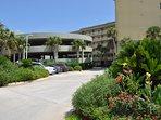 Covered Parking Waters Edge Resort Unit 213 Fort Walton Beach Florida Okaloosa Island Vacation Rentals
