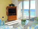 Living Room Majestic Sun 703B  Miramar Beach Destin Florida Vacation Rentals