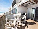 Main Floor Deck Sandollar Townhomes Unit 12 Miramar Beach House Destin Vacation Rentals