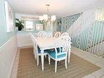 Dining Area, Sandollar Townhomes Unit 12 Miramar Beach House Destin Vacation Rentals