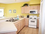 Kitchen Sandpiper Cove Resort 9106 Holiday Isle Destin Florida Vacation Rentals