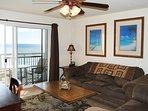 Living Room, Pelican Isle 305 Fort Walton Beach Okaloosa Island Vacation Rentals