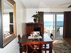 Dining Area, Pelican Isle 305 Fort Walton Beach Okaloosa Island Vacation Rentals