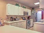 Show off your master chef cooking skills in the fully equipped kitchen!