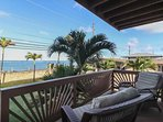 Veranda with ocean view