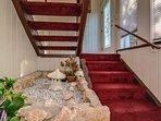 Stairway going to second floor