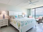 Wake up every morning with a fabulous view of the ocean from the oceanfront master bedroom with floor-to-ceilings...