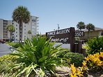 Oceanfront complex within walking distance to shopping and dining.