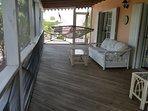 Screened-in veranda