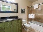 Bathroom #2; Full En-suite bathroom for Guest bedroom #2