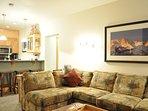Kitchen Bar & LivingRoom/Queen Sleeper Sofa