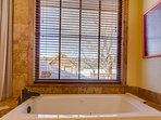 Soak in the tub and enjoy the views!