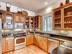 2nd Floor Kitchen feat. Stainless Steel Appliances