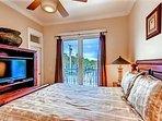 2nd Floor Queen Bedroom with Private Balcony