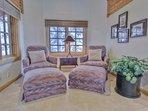 Grand Master Suite Sitting Area