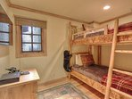 Bedroom 4 with Twin over Twin Bunk, 42' Flat Screen TV and Xbox