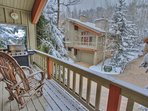 Large Private Deck with Seating and Gas BBQ Grill