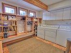 Laundry Room with Plenty of Storage