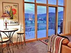 View from the living room of Park Meadows Golf Course and Park City/Deer Valley ski slopes - Park City Tranquility...