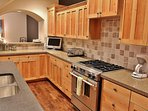 Large kitchen adjacent to the family room and wet bar - Park City Tranquility - Park City
