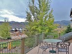 View from the private deck overlooking the ski slopes - Park City Tranquility - Park City