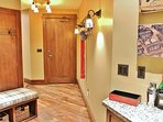 Entry and wet bar