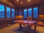 Large office suite with amazing ski slope and mountain views