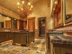 Typical master bathroom suite with all custom finishes