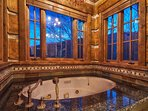 Typical master bathroom jetted tub with amazing views