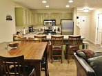 Dining and kitchen areas in Snowblaze 309 - Park City