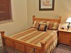 Bedroom #2 with queen bed in Snowblaze 309 - Park City
