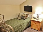 Bedroom #3 with twin over full bunk and twin bed in Snowblaze 309 - Park City