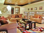 Park City Lowell Estate living room
