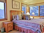Park City Lowell Estate Bedroom #4 with queen bed and twin over full bunk bed