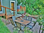 Park City Ontario Manor - 6-seat patio table/chairs in back yard, plus hot tub and BBQ grill