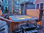Private hot tub in the back yard- Park City Resort Estate
