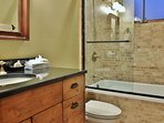 Fourth Bathroom of Badgerland - Park City. Fourth full bathroom with stone shower